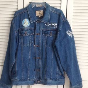 out Jackets & Coats - Cher jean jacket from her concert